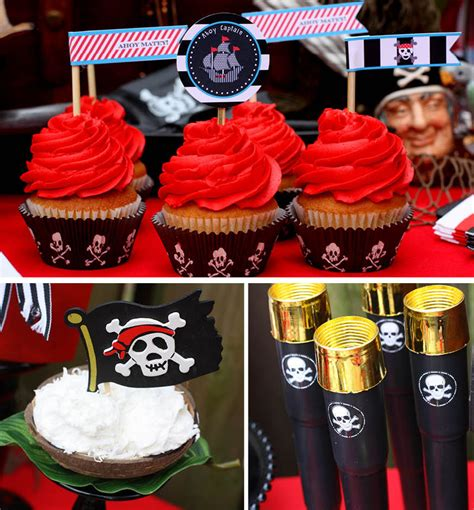 Pirates of the Caribbean Birthday Party | Pizzazzerie