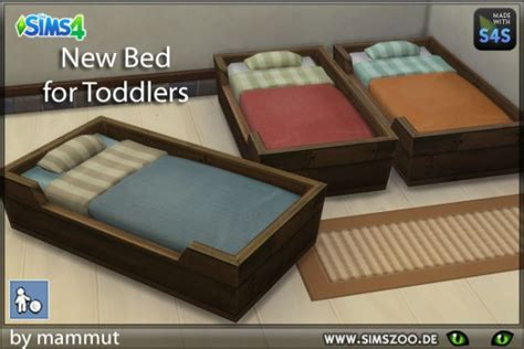 Blackys Sims 4 Zoo: Toddlers Bed Box by mammut • Sims 4