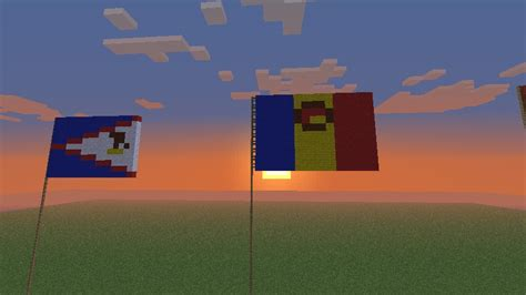 Flags of the World: Afghanistan-Aruba Minecraft Map