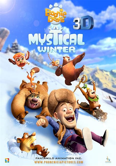 Boonie Bears: A Mystical Winter   Now Showing   Book