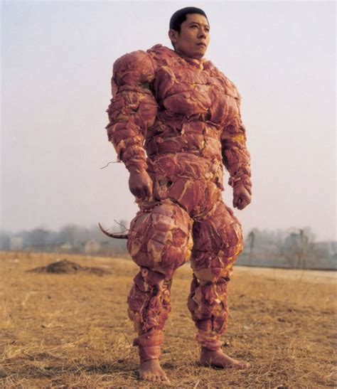 +20 Lure: Highly Questionable Meat Armor | Geekologie
